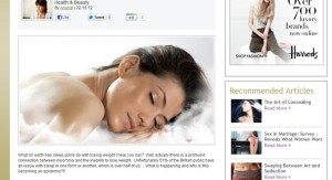 Arab women press RE Beauty Sleep