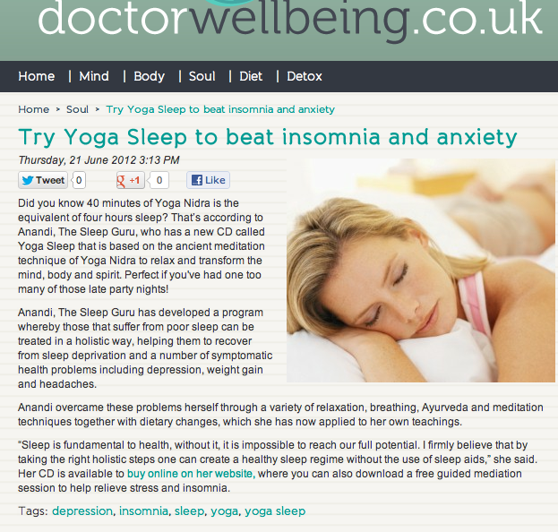 Doctor Wellbeing PR