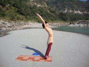 The Sleep Guru - yoga for sleep Sun salutation in India