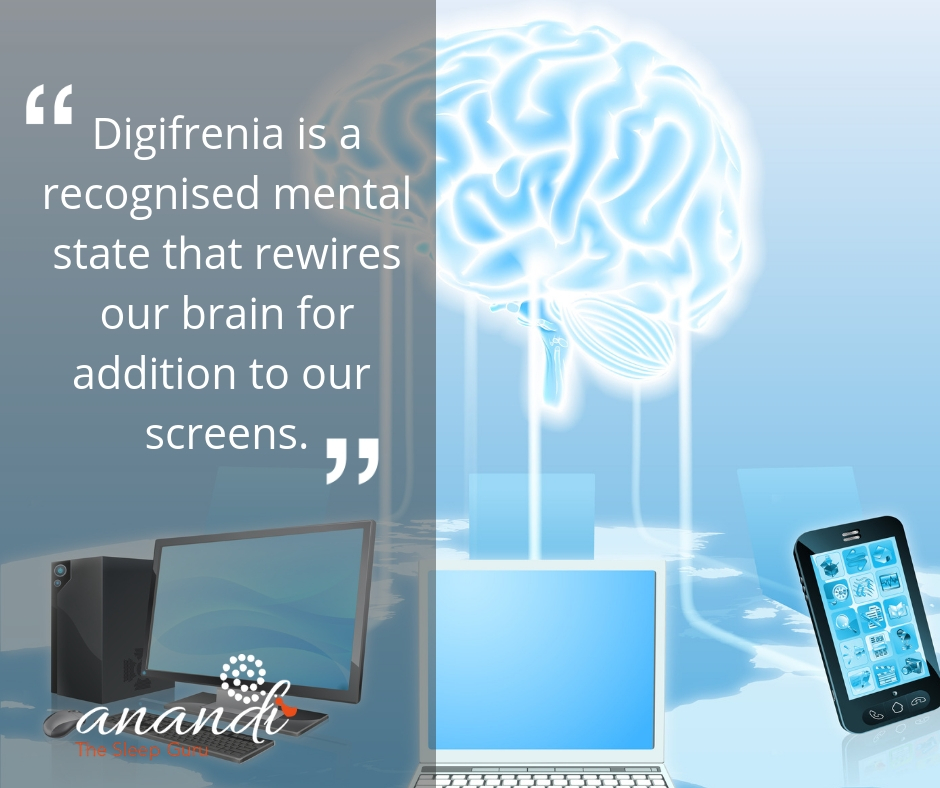 Digifrenia is a recognised mental state that rewires our brain to addiction to screens