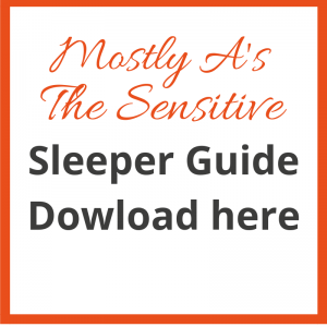 Mostly A Sensitive Sleeper Guide - what's your sleep type?
