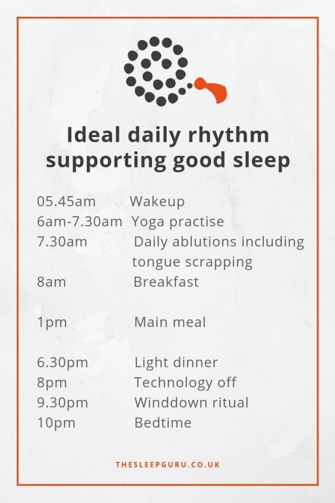 Not sleeping making me fat? Change your rhythm