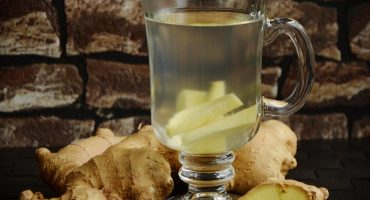 Ginger and lemon tea by Anandi