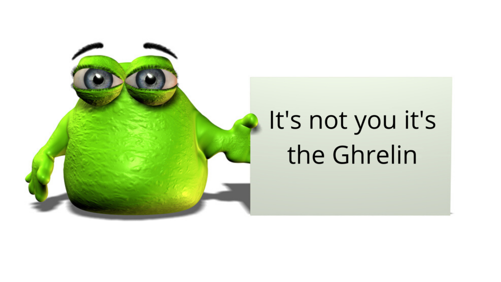 Ghrelin makes you humgry